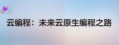 云编程:未来云原生编程之路.png
